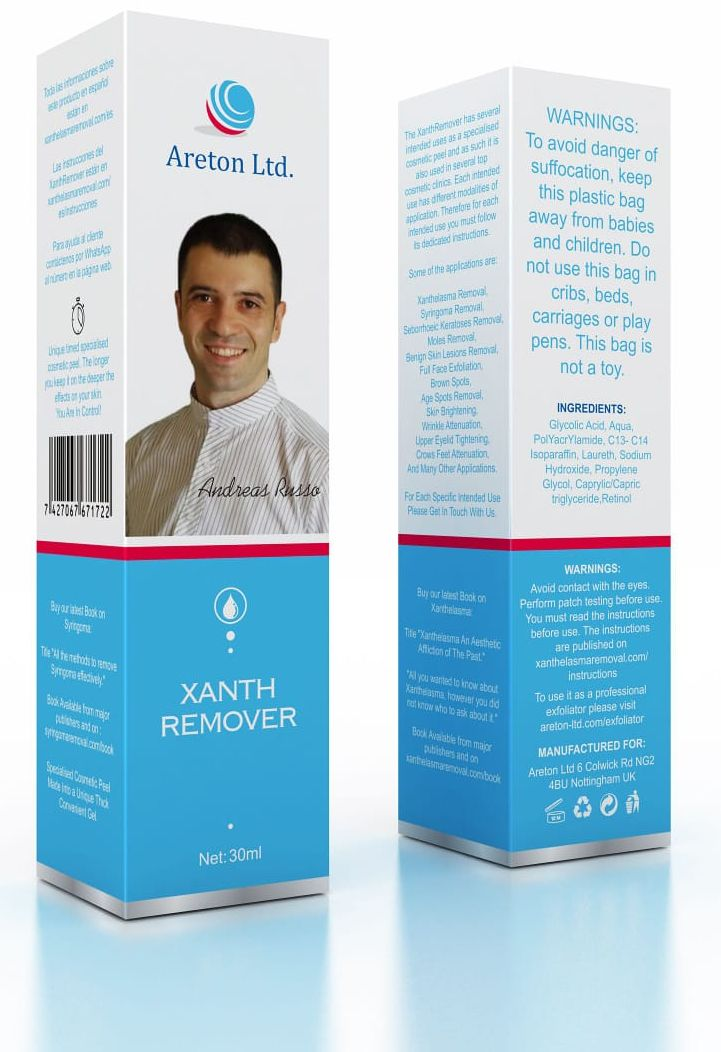 XanthRemover Complete Solution Xanthelasma